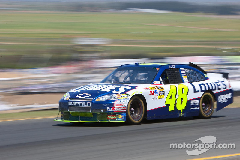 2010, Sonoma: Jimmie Johnson (Hendrick-Chevrolet)