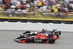 Marco Andretti, Andretti Autosport and Alex Tagliani, FAZZT Racing