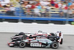 Dan Wheldon and Ryan Briscoe, Team Penske
