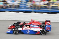 Marco Andretti, Andretti Autosport et Alex Lloyd, Dale Coyne Racing