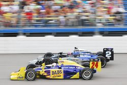 Graham Rahal, Dreyer et Reinbold Racing et Raphael Matos, de Ferran Luzco Dragon Racing