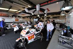 San Carlo Honda Gresini pits