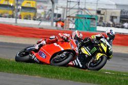 Nicky Hayden, Ducati Marlboro Team and Ben Spies, Monster Yamaha Tech 3
