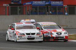 Kristian Poulsen, Poulsen Motorsport, BMW 320si en Fredy Barth, Seat Leon 2.0 TDI