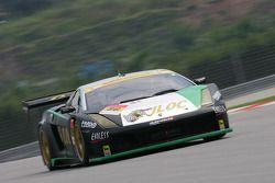 #86 JLOC Lamborghini Rg-3: Koji Yamanishi, Yuhi Sekiguchi