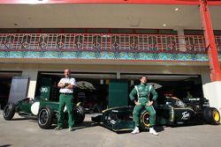 Lotus Type 12 and Lotus F1 Team, Mike Gascoyne, Lotus F1 Team, Chief Technical Officer, Jarno Trulli