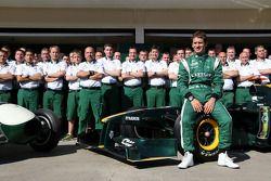 Lotus Type 12 and Lotus F1 Team, Mike Gascoyne, Lotus F1 Team, Chief Technical Officer, Jarno Trulli, Lotus F1 Team