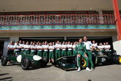 Lotus Type 12 et Lotus F1 Team, Mike Gascoyne, Lotus F1 Team, Chief Technical Officer, Jarno Trulli,