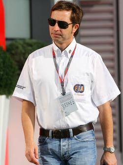 Heinz-Harald Frentzen est le commissaire de course du weekend