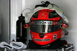 Casco de Michael Schumacher, Mercedes GP