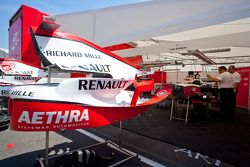 ART Grand Prix garage