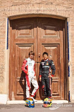 Esteban Gutierrez en Rio Haryanto, winnaars in ronde 2 van de GP3 series