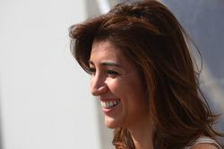 Fabiana Flosi vicepresidente de marketing del GP de Brasil, y pareja de Bernie Ecclestone