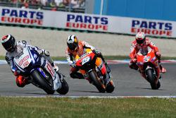 Jorge Lorenzo, Fiat Yamaha Team, Dani Pedrosa, Repsol Honda Team, Casey Stoner, Ducati Marlboro Team
