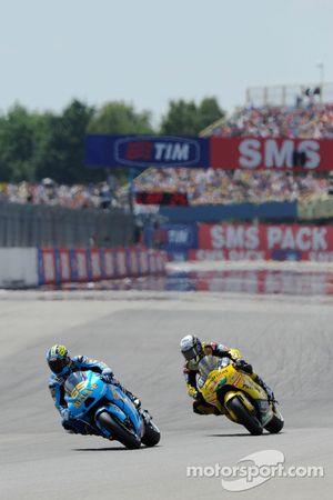 Loris Capirossi, Rizla Suzuki MotoGP and Hector Barbera, Paginas Amarillas Aspar