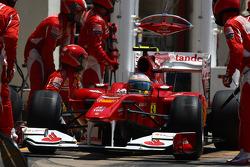 Fernando Alonso, Scuderia Ferrari pitstop