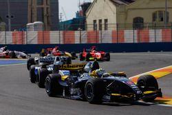 Marcus Ericsson leads Michael Herck and Giedo Van der Garde