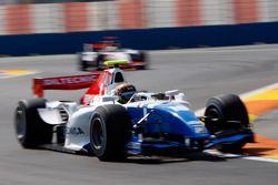 Davide Valsecchi leads Pastor Maldonado