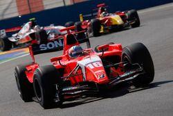 Charles Pic leads Dani Clos and Pastor Maldonado