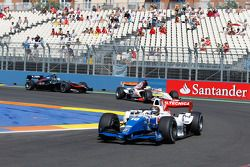 Davide Valsecchi leads Luiz Razia and Vladimir Arabadzhiev