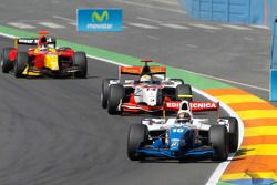 Davide Valsecchi leads Luiz Razia and Dani Clos