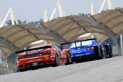 #27 NAC Eiseicom LMP Ferrari: Yutaka Yamagishi, Hiroshi Koizumi of LMP Motorsport
