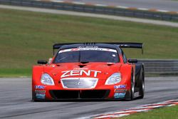 #38 Zent Cerumo SC430: Yuji Tachikawa, Richard Lyons of Lexus Team Zent Cerumo