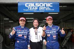 Tsugio Matsuda, Ronnie Quintarelli van Team Impul