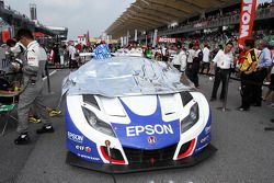 #32 Epson HSV-010: Ryo Michigami, Yuhki Nakayama of Nakajima Racing