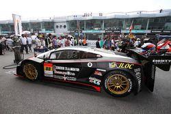 #88 RIRE Lamborghini RG-3: Atsushi Yogo, Shinya Hosokawa of JLOC