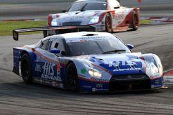 #24 HIS Advan Kondo GT-R: Joao Paulo Lima de Oliveira, Hironobu Yasuda of Kondo Racing