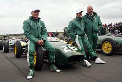 Heikki Kovalainen, Jarno Trulli, Mike Gascoyne