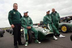 Clive Chapman, Heikki Kovalainen, Jarno Trulli, Mike Gascoyne