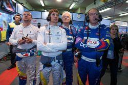 Olivier Panis, Loic Duval et Hugues de Chaunac
