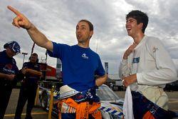 Polepositie Ricky Taylor met ploegmaat Max Angelelli