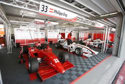 De F2-wagen van Philipp Eng