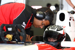 Jonathan Kennard F2 Test Car
