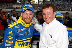 Dale Earnhardt Jr. and team owner Richard Childress