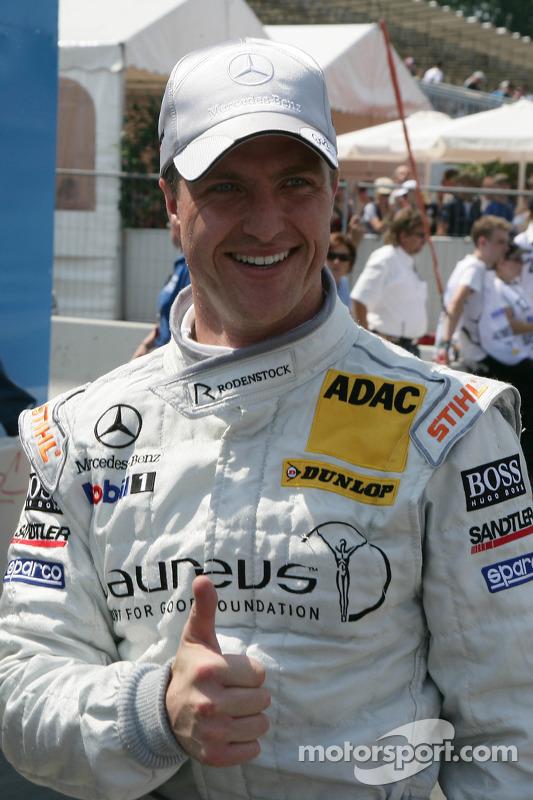 Polepositie Ralf Schumacher, Team HWA AMG Mercedes C-Klasse