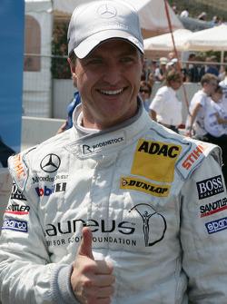 poleman Ralf Schumacher, Team HWA AMG Mercedes C-Klasse