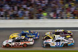 Brad Keselowski, Dale Earnhardt Jr., Kyle Busch and Kevin Harvick