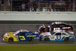 Dale Earnhardt Jr., Kevin Harvick and Justin Allgaier