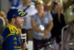 Victory lane: race winner Dale Earnhardt Jr.