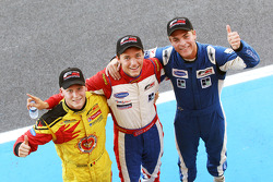 Pole winner Jolyon Palmer, second Benjamin Bailly, third Jack Clarke