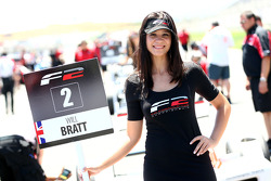 Formula Two grid girl