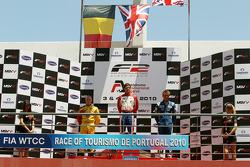 Podium: vainqueur Jolyon Palmer, 2e Benjamin Bailly, 3e Jack Clarke