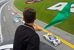 DP start: #10 SunTrust Racing Ford Dallara: Max Angelelli, Ricky Taylor leads the field