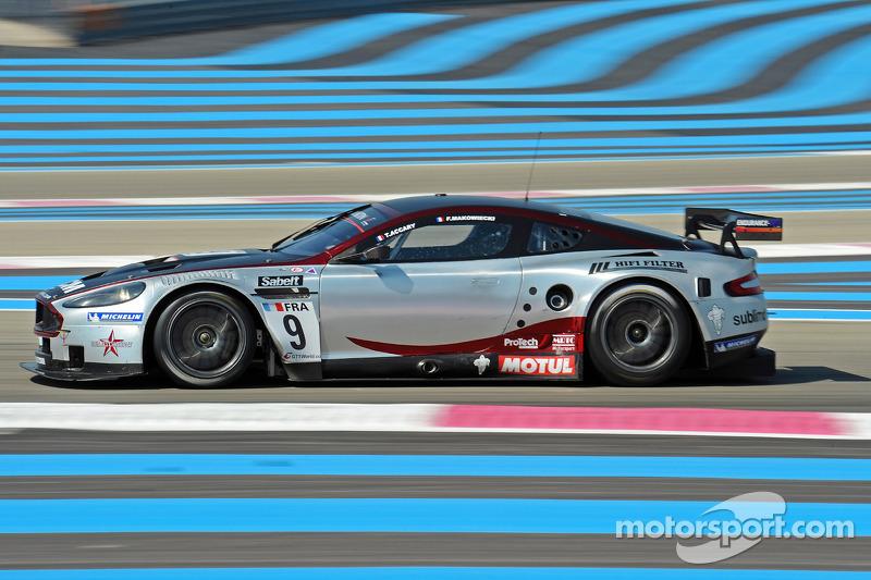 #9 Hexis AMR Aston Martin DB9: Frédéric Makowiecki, Thomas ...