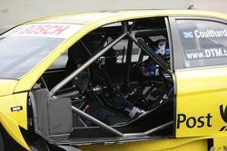 David Coulthard, Mücke Motorsport, AMG Mercedes C-Klasse zonder deur in zijn auto