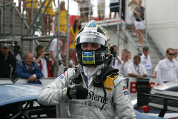 Race winner Jamie Green, Persson Motorsport AMG Mercedes C-Klasse celebrates